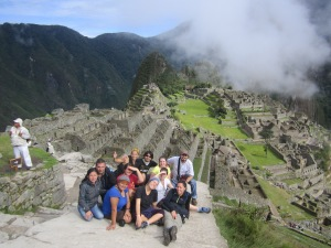 In January I went to Peru with three wonderful team-mate-friends and spent 4 grueling days hiking to Machu Picchu!