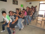 The next day we co-led a workshop for youth from 6 different Anabaptist churches in the DF.